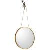 This item: Golden Bronze Muscle Man Mirror