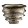 This item: Spirula Pewter 17-Inch Planter