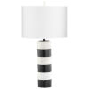 This item: Gunmetal Marceau Table Lamp
