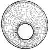 This item: Graphite 11-Inch Silk Noir Mirror