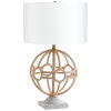This item: Aged Brass Basilica Table Lamp