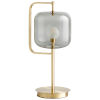 This item: Aged Brass Isotope Table Lamp