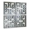 This item: Akari Old World Mirror Panels, Set of Four
