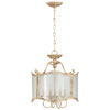 This item: Maison Persian White Four-Light Dual Mount Chandelier