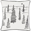 This item: Holiday Evergreen 18-Inch Pillow Cover and Poly Insert