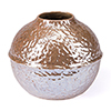 This item: Textured Small Vase Pearl Yellow