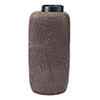 This item: Cuadra Vase Large Brown