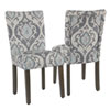 This item: Classic Parsons Dining Chair - Suri Blue - Set of 2