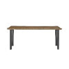 This item: Haven Brown and Black Console Table