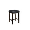 This item: Harris Rustic Black 25-Inch Counter Stool