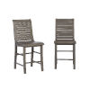 This item: Willow Distressed Dark Gray 24-Inch Counter Chair, Set of 2