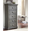 This item: Willow Distressed Dark Gray Lingerie Chest