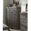 This item: Willow Distressed Dark Gray Chest