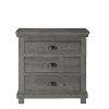 This item: Willow Distressed Dark Gray Nightstand