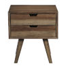 This item: Bungalow Caramel End Table with Drawers