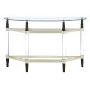 This item: Michigan Ave Brushed Nickel Console Table