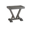 This item: Fiji Harbor Gray Chairside Table