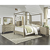 This item: Coronado Flax Complete King Canopy Bed