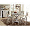 This item: Willow Distressed White Counter Upholstered Chair, Set of 2