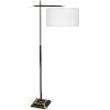 This item: Ranger Matte Black Painted Two-Light Floor Lamp
