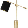 This item: Campbell black, gold One-Light Table Lamp