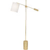 This item: Campbell White, gold One-Light Floor Lamp