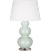 This item: Triple Gourd Celadon Glazed Ceramic One-Light Table Lamp