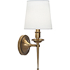 This item: Cedric Warm Brass  Six-Inch One-Light Wall Sconce