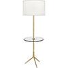 This item: Martin Modern Brass 60-Inch One-Light Floor Lamp