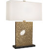This item: Goliath Antiqued Modern Brass One-Light Table Lamp