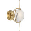 This item: Jace Modern Brass One-Light Wall Sconce
