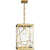This item: Michael Berman Bond Modern Brass  12-Inch One-Light Pendant