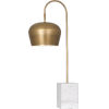 This item: Rico Espinet Bumper Warm Brass One-Light Table Lamp