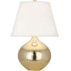 This item: Dal Modern Brass 19-Inch One-Light Table Lamp