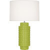 This item: Dolly Apple Glazed Textured Ceramic One-Light Table Lamp