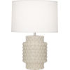 This item: Dolly Bone Glazed Textured One-Light Accent Lamp
