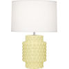This item: Dolly Butter Glazed Textured One-Light Accent Lamp