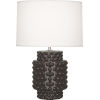 This item: Dolly Coffee Glazed Textured Ceramic One-Light Accent Lamp