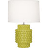 This item: Dolly Citron Glazed One-Light Accent Lamp