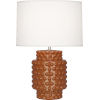This item: Dolly Cinnamon Glazed Textured One-Light Accent Lamp