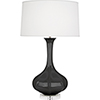 This item: Pike Ash Glazed Ceramic with Lucite Base 33-Inch One-Light Table Lamp