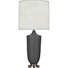 This item: Michael Berman Hadrian Matte Ash Glazed Ceramic with Dark Antique Nickel Accents 29-Inch One-Light Table Lamp
