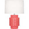 This item: Dolly Melon Glazed Textured Ceramic One-Light Accent Lamp