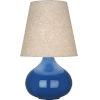 This item: June Marine Blue Glazed Ceramic One-Light Accent Lamp