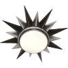 This item: Cosmos Bronze Two-Light Flushmount