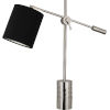 This item: Campbell Black, Silver One-Light Table Lamp