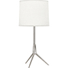 This item: Martin Polished Nickel 20-Inch One-Light Table Lamp