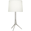This item: Martin Polished Nickel 28-Inch One-Light Table Lamp