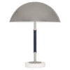 This item: Jonathan Adler Geneva Polished Nickel Two-Light Table Lamp With Metal Shade