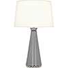 This item: Pearl Smoky Taupe Lacquered Paint and Polished Nickel Accents 29-Inch One-Light Table Lamp